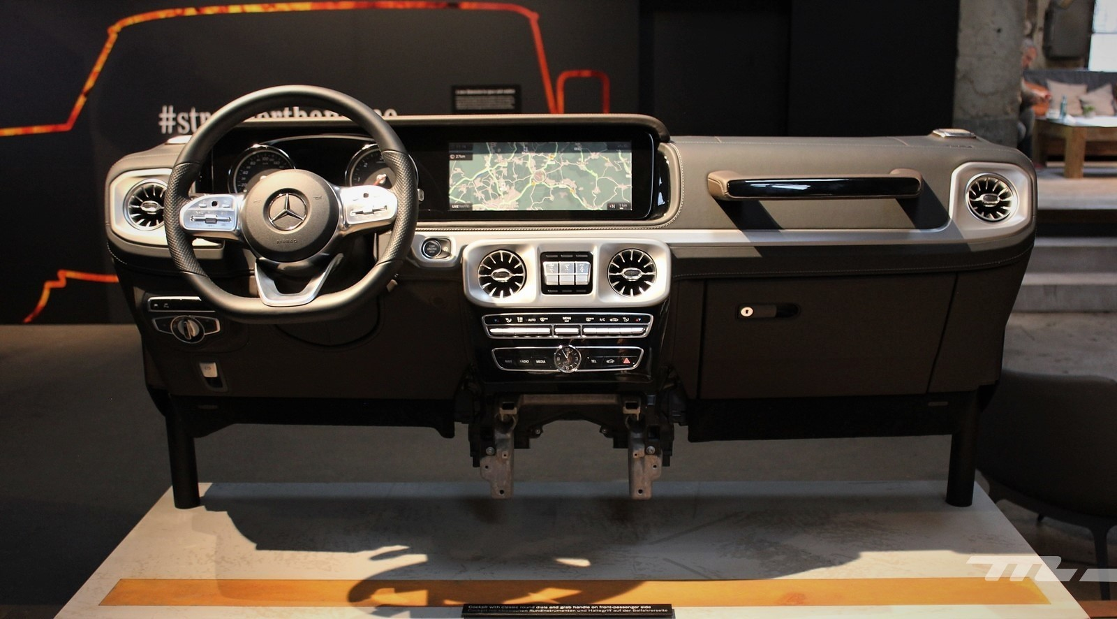 Foto de Mercedes-Benz Clase G 2018 - Interior (1/16)
