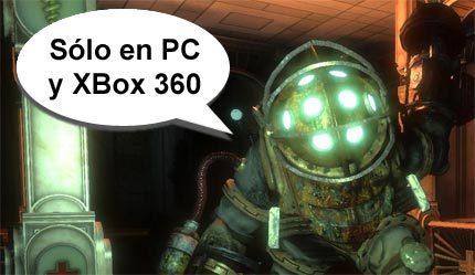 Una vez más: NO habrá 'Bioshock' en PlayStation 3