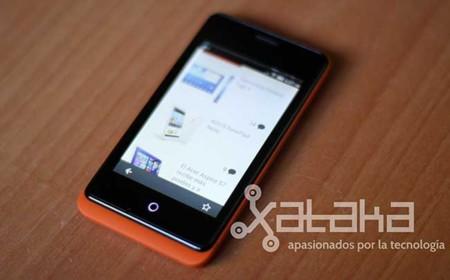Firefox OS en el Geeksphone Keon