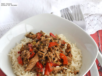 Nasi Goreng. Receta Indonesia
