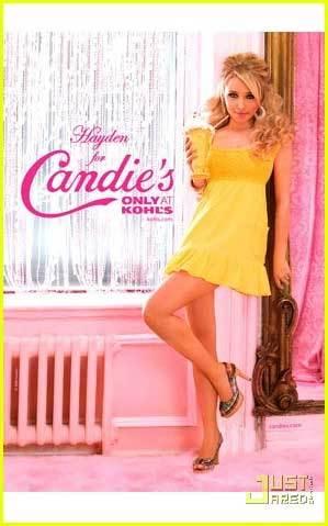 Hayden Panettiere para Candie