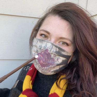 Atención amantes de Harry Potter: ahora podéis tener una mascarilla que desvela el Mapa del Merodeador cuando respiras