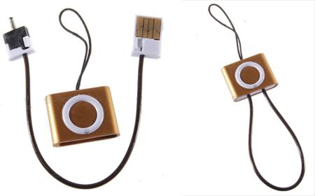 Cargador USB para Nokia con forma de iPod