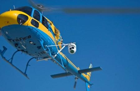Helicóptero DGT con radar Pegasus