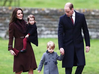 Kate Middleton se decanta por el marrón y las pieles (low-cost) para asistir a la Misa de Navidad