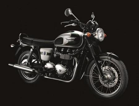 Triumph presenta su edición limitada para celebrar sus 110 años: la Bonneville T100 2012 Edición Aniversario 110