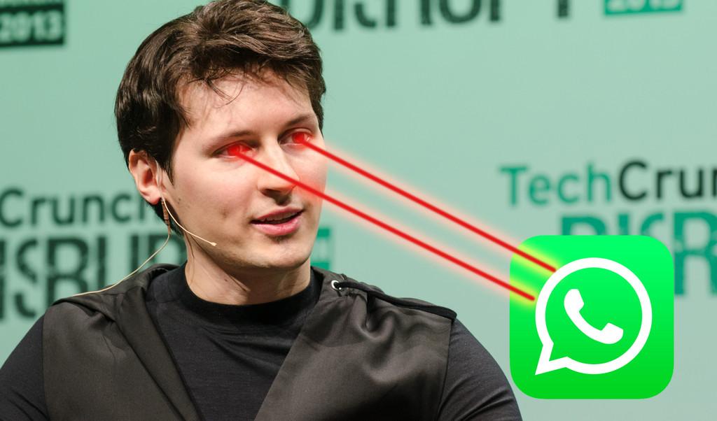 """Pavel Durov, cofundador de Telegram, expone las razones por las que cree que """"WhatsApp nunca será seguro"""""""