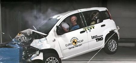 El Fiat Panda se convierte en el segundo coche de la historia al que Euro NCAP otorga cero estrellas