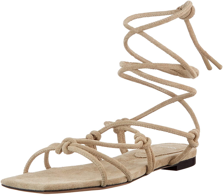 BOSS Lily Flat Sandal-s, Sandalia Mujer