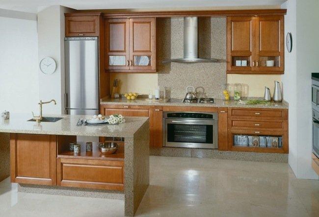 Vuelve la piedra natural a las cocinas for Cocinas en granito natural
