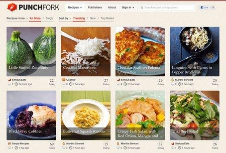 Punchfork, las recetas más populares de la red