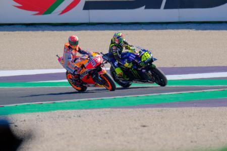 Marquez Rossi Misano Motogp 2019