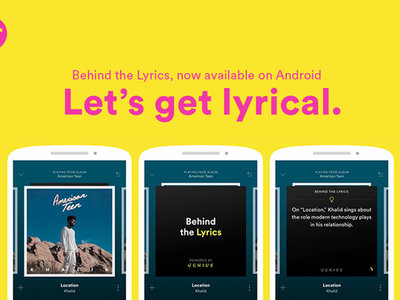 Behind the Lyrics' de Spotify ya en Android: letras y datos curiosos de las canciones de tus artistas favoritos