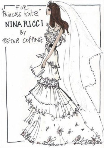 Los más grandes diseñadores ya tienen su vestido para Kate Middleton
