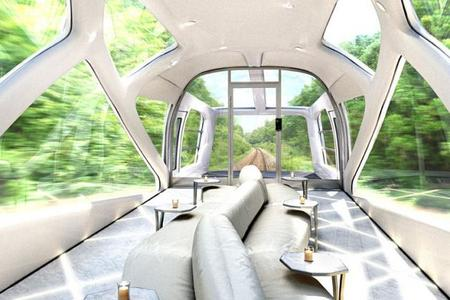 Conoce el tren mas lujoso del mundo por el mismo diseñador de Ferrari