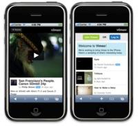 Vimeo se actualiza y ofrece soporte para el iPhone e iPod touch