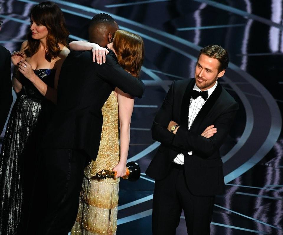Ryan Gosling tras el Oscar de Moonlight