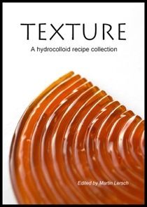 Portada del libro Texture: A Hydrocolloid recipe collection