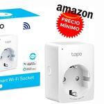 De nuevo a precio mínimo y más barato que en otras tiendas: Amazon tiene el enchufe inteligente TP-Link Tapo P100 por menos de 10 euros