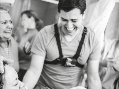 Un padre graba el parto de su mujer con una GoPro para poder estar más pendiente del momento, y este es el resultado