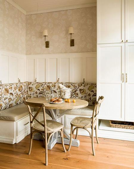 11 ideas para crear un office en tu cocina - Decorar office cocina ...