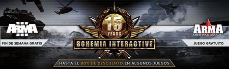 Descuentos y regalos de Bohemia Interactive para celebrar sus 15 años