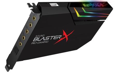 Creative pone a la venta su tarjeta de sonido más potente, la  Sound BlasterX AE-5
