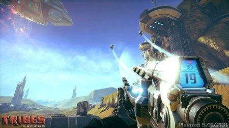 'Tribes: Ascend'. Nuevo vídeo con gameplay directamente sacado de la QuakeCon 2011