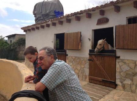 La foto de tu bebé: Hugo y su abuelo Pepe