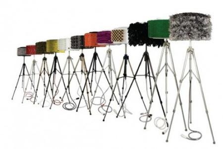 Preciosas y sorprendentes lámparas a partir de tambores de lavadora