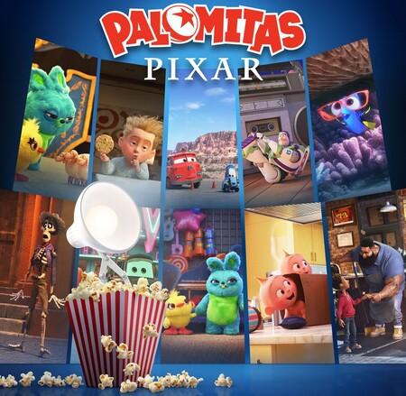 Tráiler de 'Palomitas Pixar', la nueva serie de cortos animados de Disney+ con personajes de Toy Story, Cars o Los Increíbles
