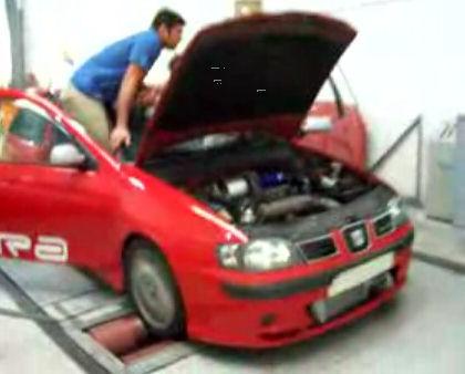 SEAT Ibiza Cupra de 356 CV, casi ná