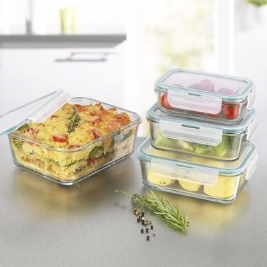 Tuppers de cristal: almacena, organiza tu comida y reduce plástico en la cocina