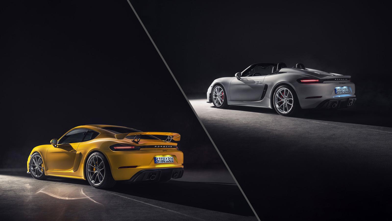 Foto de Porsche 718 Cayman GT4 y Porsche 718 Spyder (15/16)