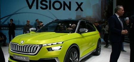 Škoda desenmascara su Vision X, un B-SUV tres en uno con autonomía de 650 km