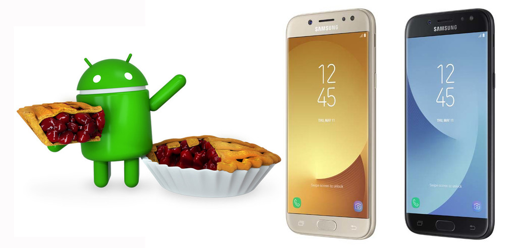 The Samsung Galaxy J5 (2017) begins to receive the update to Android 9 Foot with Samsung One UI