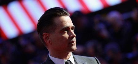 Colin Farrell de un impecable look negro en el Festival de Cine de Londres