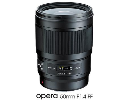 Tokina Opera 50mm F1.4 FF: así es el primer objetivo de la serie premium para cámaras DSLR