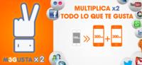 Euskaltel duplica los megas de M3GUSTA a clientes con al menos dos líneas móviles