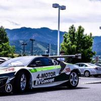 Acura NSX 4-Motor EV: la brutalidad eléctrica de 1.000 CV va camino de Pikes Peak