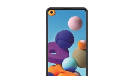 Nuevo Samsung Galaxy A21: otro 'económico' de los coreanos que salta a las cuatro cámaras y perfora la pantalla