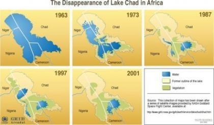 Desaparece el Lago Chad