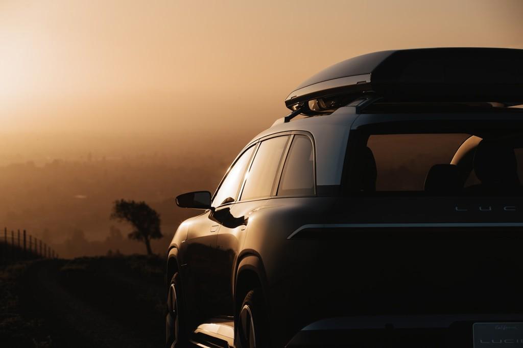 Y este es el Lucid Project Gravity, un SUV eléctrico con siete plazas que se sumará al Lucid Air en 2023