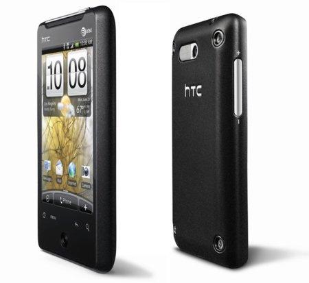 HTC Aria, un HTC HD Mini con Android 2.1