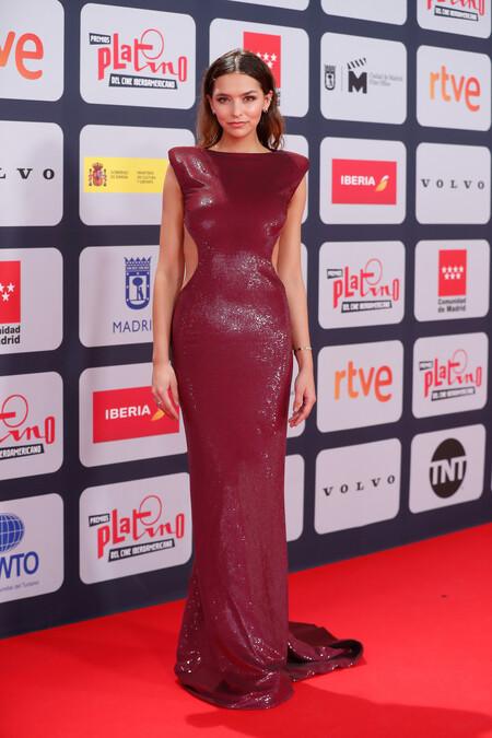 Premios Platino 2021 Juanita Arias Etro