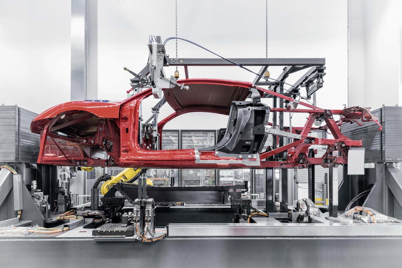 Foto de Audi R8 fabricación (5/8)