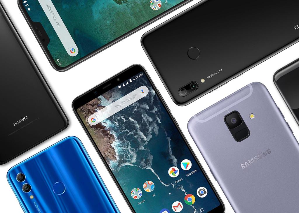 Los mejores móveis de gama de entrada de 2019