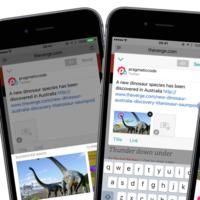 Linky, una app perfecta para compartir contenido en redes sociales