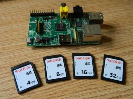 Raspberry Pi y tarjetas SD