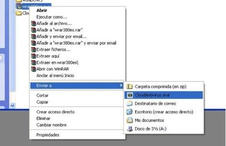 Cloud Antivirus, comprueba ficheros potencialmente maliciosos